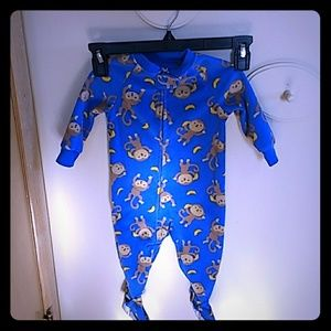 Carters child of mine footsie pjs size 6-9 month